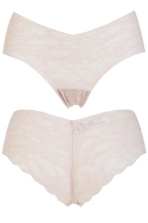 Ladies 1 Pair Sloggi Light Lace Hipsters