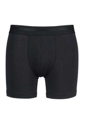 Mens 1 Pack Sloggi Simplicity Cotton Modal Boxer Shorts