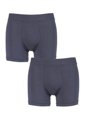 Mens 2 Pack Sloggi GO Allround One Size Fits All Boxer Shorts