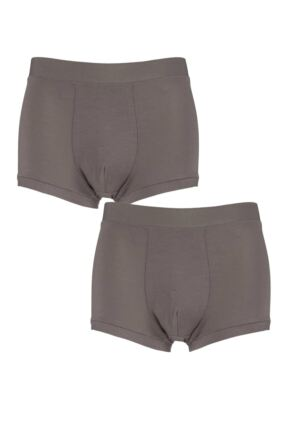 Mens 2 Pack Sloggi GO Allround One Size Fits All Hipster Shorts Havanna One Size