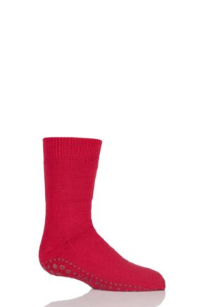 Boys And Girls 1 Pair Falke Catspads Slipper Socks Fire 31-34