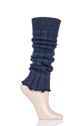 Girls 1 Pair Falke Ribbed Cotton Legwarmers
