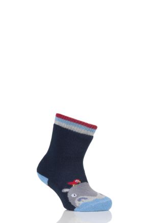 Babies 1 Pair Falke Hippo Catspad Socks with Grip