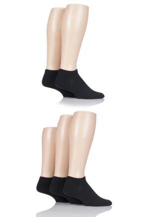 Mens 5 Pair Jack & Jones Dongo Cotton Trainer Socks
