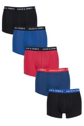 Mens 5 Pack Jack & Jones Jacnew Trunks