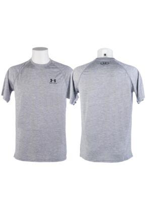 Mens 1 Pack Under Armour Tech Short Sleeved T-Shirt 33% OFF Grey L