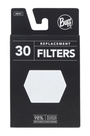 Adult 1 Pack BUFF Filter Mask Face Cover with 5 Replacement Filters