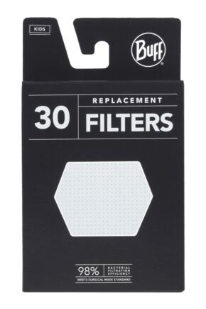 Childrens 1 Pack BUFF Filter Mask Face Cover with 5 Replacement Filters