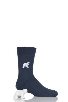 Boys and Girls 1 Pair Falke Limited Edition Schleich Toy and Socks Set Polar Bear 31-34 Boys and Girls