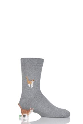 Boys and Girls 1 Pair Falke Limited Edition Schleich Toy and Socks Set Cat 27-30 Boys and Girls