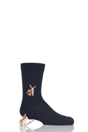 Boys and Girls 1 Pair Falke Limited Edition Schleich Toy and Socks Set Rabbit 27-30 Boys and Girls