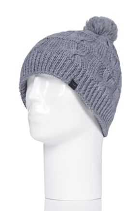 SealSkinz 1 Pack 100% Waterproof Cable Knit Bobble Hat