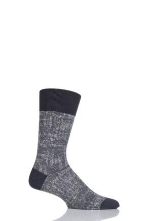 Mens 1 Pair Falke Denim Addicted Cotton Socks