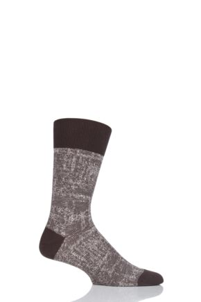 Mens 1 Pair Falke Denim Addicted Cotton Socks