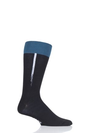 Mens 1 Pair Falke Body Code Left and Right Cotton Wool Blend Sports Socks