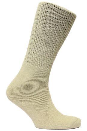 Mens 1 Pair HJ Hall Diabetic Socks In 4 Colours