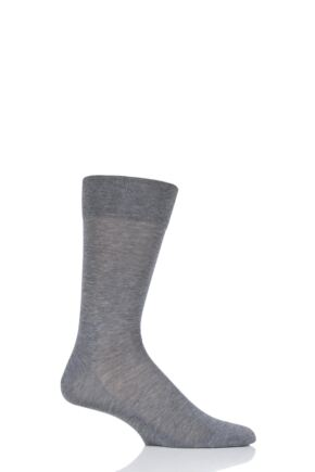 Mens 1 Pair Falke Sensitive Malaga with Pressure Free Top Socks
