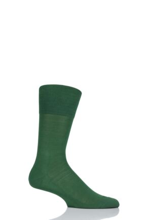 Mens 1 Pair Falke Tiago Classic Fil d'Ecosse Mercerised Cotton Socks