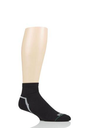 Mens and Ladies 1 Pair 1000 Mile Ultra Quarter Socks