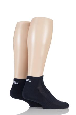 Mens and Ladies 2 Pair Puma Sneaker Socks