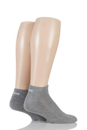 Mens and Ladies 2 Pair Puma Sneaker Socks
