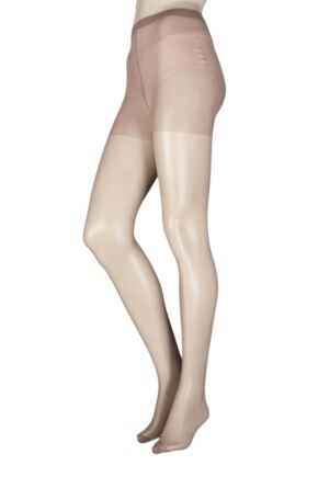 Ladies 1 Pair Elle Tights 15 Denier 100% Nylon