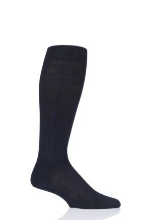 Mens 1 Pair Falke Travel and Comfort Energizing Cotton Compression Socks