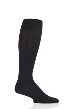 Mens 1 Pair Falke Ultra Energizing Travel and Comfort Strong Compression Socks
