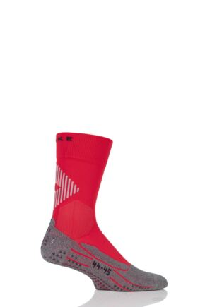Mens 1 Pair Falke Low Compression 4 Grip Football and Sports Socks