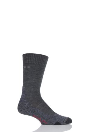 Mens 1 Pair Falke Medium Volume Ergonomic Cushioned Trekking Socks