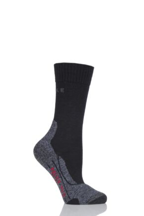 Ladies 1 Pair Falke TK2 Sensitive Trekking  Medium Cushioned Socks