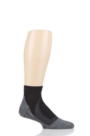 Mens 1 Pair Falke RU4 Cool Short Cushioned Sports Short Socks