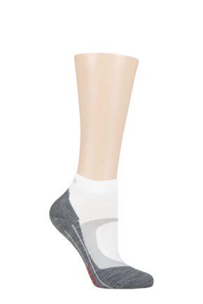 Ladies 1 Pair Falke RU4 Short Light Volume Ergonomic Cushioned Short Running Socks