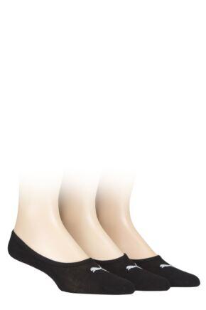 Mens and Ladies 3 Pair Puma Invisible Socks