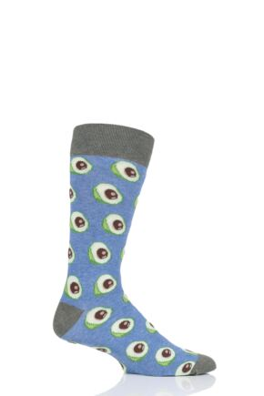 1 Pair Moustard Avocado Cotton Socks