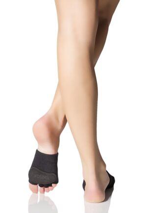 Ladies 1 Pair ToeSox Releve Half Toe Open Foot Dance Ballet Socks