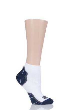 Ladies 1 Pair 1000 Mile Breeze Lite Multi-Sport Socks White LS