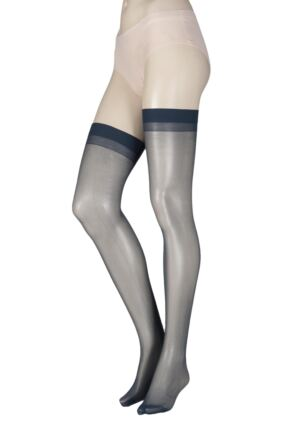 Ladies 1 Pair Elle Stockings 20 Denier 100% Nylon