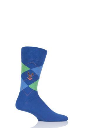Mens 1 Pair Burlington King Easter Bunny Cotton Socks