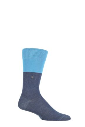 Mens 1 Pair Burlington Organic Cotton Block Socks