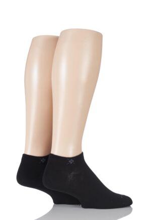 Mens 2 Pair Burlington Everyday Cotton Trainer Socks
