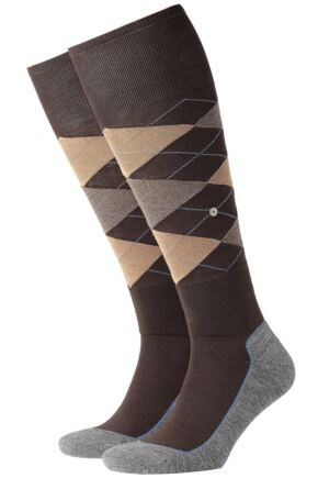 Mens 1 Pair Burlington Hackney Riding Knee High Socks