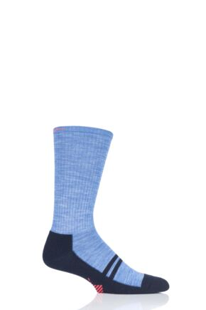 Mens 1 Pair Burlington Adventure Boy Walking and Hiking Socks
