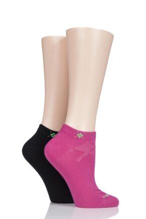 Ladies 2 Pair Burlington Everyday Cotton Trainer Socks