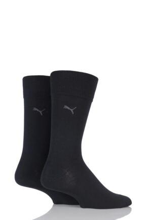 Mens 2 Pair Puma Everyday Classic Cotton Socks