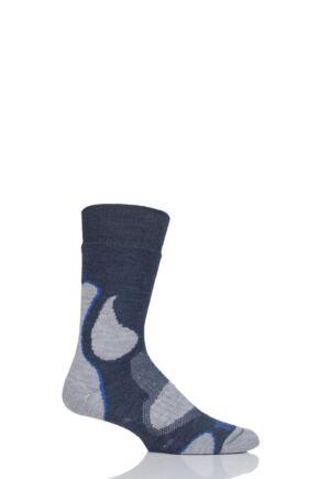 Mens and Ladies 1 Pair 1000 Mile 3 Seasons Merino Wool Walking Socks