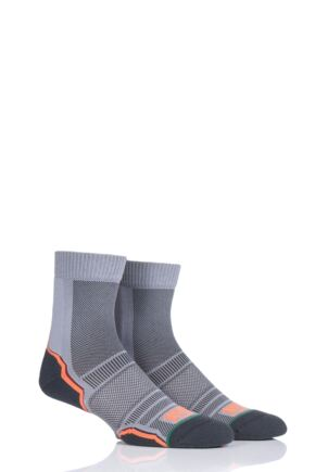 Mens and Ladies 2 Pair 1000 Mile Trail Sock