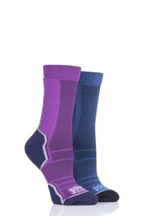 Mens and Ladies 2 Pair 1000 Mile Trek Socks