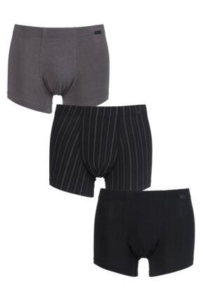 Mens 3 Pack Jockey Cotton Plus Boxer Shorts