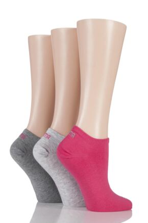 Mens and Ladies 3 Pair Puma Invisible Sneaker Socks
